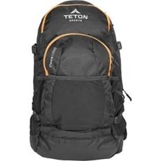 TETON Sports Oasis 1200 ITER Hidrasi Ransel Sempurna untuk Ski, Berlari, Bersepeda, Bersepeda, Hiking, Climbing, dan Berburu; Air Kandung Kemih Termasuk; Cover Hujan Gratis Termasuk; Hitam-Intl