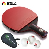 Boll Pen Carbon Nano King Single Shot Asli Reverse Table Tennis Racket Intl Asli