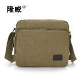 Harga The New Tide Restoring Ancient Ways Men Canvas Shoulder Bag Inclined Shoulder Bag Khaki Intl Terbaru