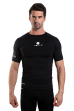 Dapatkan Segera Tiento Baselayer Atau Manset Short Sleeve Black White Original