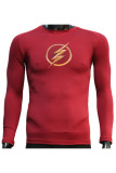 Jual Tiento Baselayer Manset Rashguard Compression Baju Kaos Ketat Olahraga Bola Renang Running Gym Fitness Yoga Long Sleeve Maroon Flash Original Jawa Barat Murah