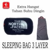 Harga Tiga Layer Sleeping Bag 3 Lapis Polar Dacron Parasut Branded