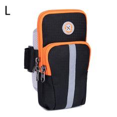 Spesifikasi Tigernu Ukuran L Joging Olahraga Tas Gym Lengan Band Dudukan Sepeda Untuk Ponsel Hal Hal Yang Kecil Hitam