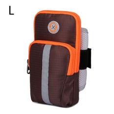Dimana Beli Tigernu Ukuran L Olahraga Joging Gym Lengan Band Holder Bag Untuk Ponsel Hal Hal Kecil Kopi Tigernu