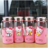Beli Toko49 Botol Minum Kaca Travel Piknik Karakter Hello Kitty Murah Jawa Barat