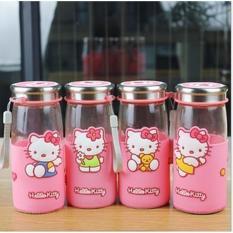 Toko Toko49 Botol Minum Kaca Travel Piknik Karakter Hello Kitty Termurah Di Jawa Barat