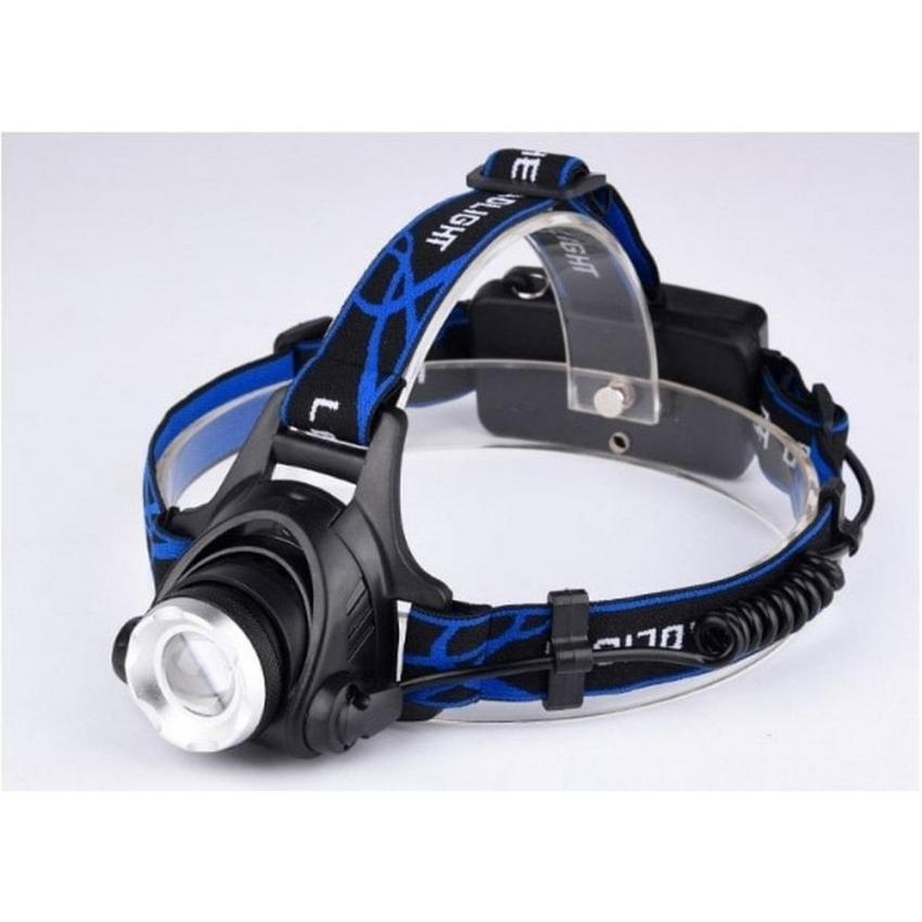Situs Review Toko49 Lampu Kepala Zoom Bisa Pake Batre Dicharge T6 Light Glare Headlamp Cree