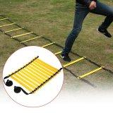 Toko Tomshoo 11 Rung Flat Adjustable Speed Agility Ladder Sports Speed Latihan Latihan Tangga With Tas Carry Gratis Online Dki Jakarta