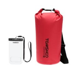 Beli Tomshoo 20L Outdoor Water Resistant Dry Bag Sack Storage Bag With Waterproof Phone Case For Travelling Rafting Boating Kayaking Canoeing Camping Snowboarding Intl