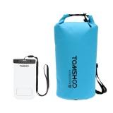 Promo Tomshoo 20L Outdoor Tahan Air Dry Bag Sack Storage Bag Dengan Waterproof Phone Casing Untuk Bepergian Rafting Perahu Kayak Canoeing Camping Snowboarding Intl Hong Kong Sar Tiongkok