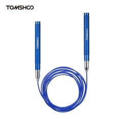 Jual Tomshoo Adjustable Speed Jump Rope Lightweight Skipping Jumping Rope Cable Wire Home Gym Fitness Boxing Training Workout Exercise Intl Online