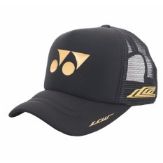 TOPI Yonex 40000LCWEX Tenis Badminton Cap - Black - ORI