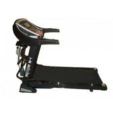 Free Ongkir PULAU JAWA Total Fitness Motorized Treadmill Elektrik 3 Fungsi M-1 - Hitam