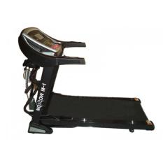Total Fitness Motorized Treadmill Moscow-M1 - Hitam - Gratis Pengiriman & Instalasi Khusus JABODETABEK, Surabaya dan Sidoarjo
