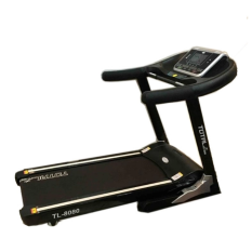 Beli Total Fitness Motorized Treadmill Tl8080 Hitam Terbaru