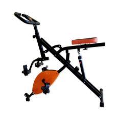 Free Ongkir Se PULAU JAWA Total Fitness - Sepeda Statis Horse Rider Bike Magnetic / X-Bike With Hydrolic