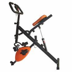 Total Fitness - Sepeda Statis Horse Rider Bike Magnetic / X-Bike With Hydrolic