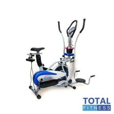 Free Ongkir Se PULAU JAWA Total Fitness - Sepeda Statis Orbitrek 5 in 1 Anti gores - Elliptical Bike
