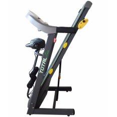 FREE ONGKIR JABODETABEK- Total Fitness - Treadmill Elektrik TL-288 3 Fungsi Motor 2.0HP
