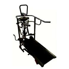 Total Fitness Treadmill Manual 6 Fungsi TL-004 - Hitam - Pengiriman Khusus Medan