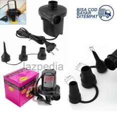 TOTO Pompa Angin Elektrik 2 IN 1 Ac Air Pump Vacuum and Blow / Pompa Udara Elektrik - Lazpedia