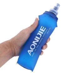 Beli Tpu Folding Soft Flask Sport Water Bottle For Running 500Ml Intl Oem Dengan Harga Terjangkau