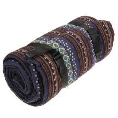 Travel Camping Mat Waterproof Outdoor Folding Portable Picnic Mat Blanket (Floral)-Intl