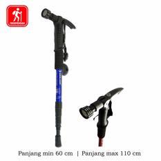 Beli Trekking Pole Senter Kompas Anti Shock Tongkat Hiking Volide Murah