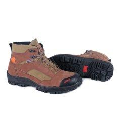 Iklan Trekking Supreme Quality Hiking Boot Sepatu Gunung Kulit Cokelat