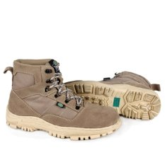 Spesifikasi Trekking Supreme Quality Suede Hiking Boot Sepatu Gunung Kulit Abu Abu Lengkap Dengan Harga