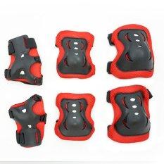 Harga Tsh Pelindung Lutut Dan Tangan Anak Deker Sepatu Roda Merah Tsh Online