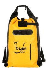 Jual Tyde 35L Waterproof Backpacks Ransel Anti Air Tangy Yellow Jet Black Branded Original
