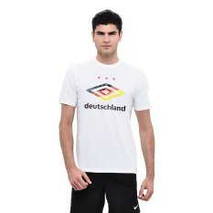 Toko Umbro Flag Logo Tee Germany Putih Terlengkap