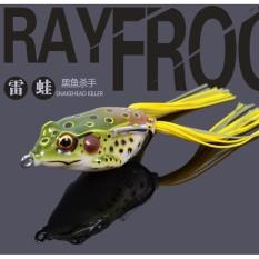 Umpan Pancing Kodok Ray Frog Bionic Fishing Gear Beak Bait