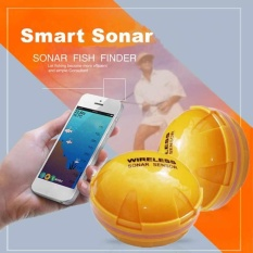 Bawah Air Bluetooth Smart HD Sonar Pencari Ikan Nirkabel Visual 10 H Power-Intl
