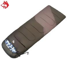 Unik Berbentuk Amplop Sleeping Bag Camping Waterproof Taffeta Nyaman Hangat Portable Sleeping Bag Jungle King Blue-Intl