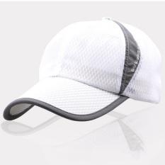 Adapula Jala Klasik Baseball Cap Yg Dpt Mengatur Supir Truk Kosong Luar  Ruangan Olahraga Golf Topi f70d6fcee2