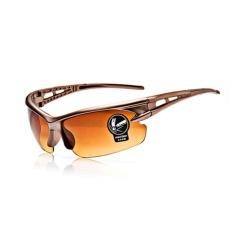 Uniseks Sport Kacamata Tahan Angin Ultraviolet-Tahan Ledakan Bersepeda Kacamata Hitam-Internasional
