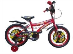Jual United Sepeda Anak 18 Space Merah Branded Original