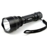 Beli Universal C8 Senter Led Flashlight Waterproof Cree Q5 3800 Lumens Black Baru