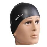 Universal Chengxiang Topi Renang Silicone Waterproof Swimming Cap Black Universal Diskon 40