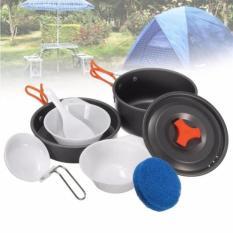 Universal Cooking Set Panci Dan Mangkok Satu Paket Cocok Untuk Camping -