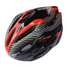 Spesifikasi Universal Cycling Helmet Eps Foam Pvc Shell Helm Sepeda Hitam Dan Harganya