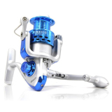 Harga Universal Debao Cs3000 Fishing Spinning Reel 8 Ball Bearing Reel Pancing Blue Dan Spesifikasinya