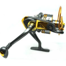 Review Universal Debao Gulungan Pancing Db6000A Metal Fishing Spinning Reel 10 Ball Bearing Golden Di Dki Jakarta