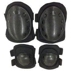Harga Universal Decker Duker Deker Sikut Lengan Lutut Arm Sleeve Knee Pad 1 Set Sikut Lutut Universal