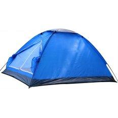 Toko Universal Double Layer Door Camping Tent Tenda Camping Biru Universal Di Jawa Tengah