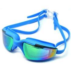 Toko Universal Kacamata Renang Hd Profesional Anti Fog Uv Protection Rh5310 Blue Murah Indonesia