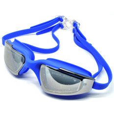 Beli Universal Kacamata Renang Hd Profesional Anti Fog Uv Protection Rh5310 Deep Blue Cicilan