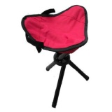 Beli Universal Kursi Lipat Memancing Folding Three Legged Beach Stool Chair Red Online Terpercaya